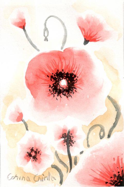 red poppies - CORinAZONe