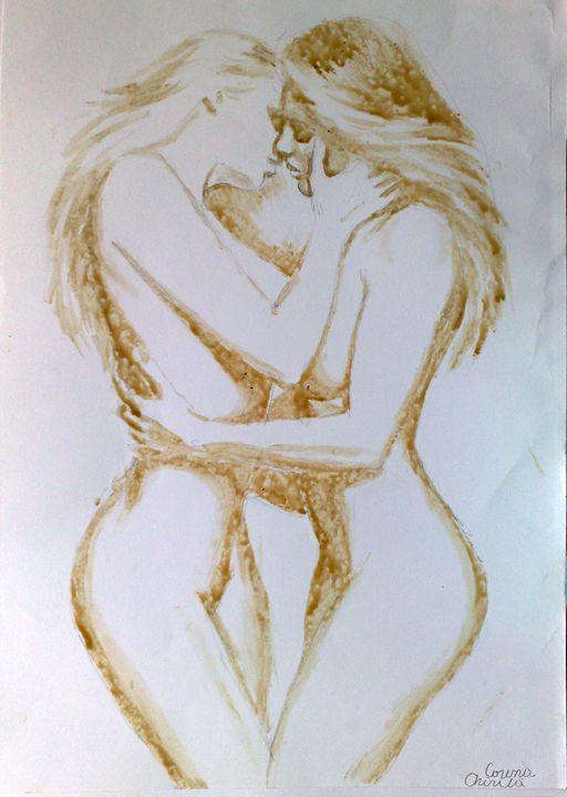 Lesbians Kissing - CORinAZONe