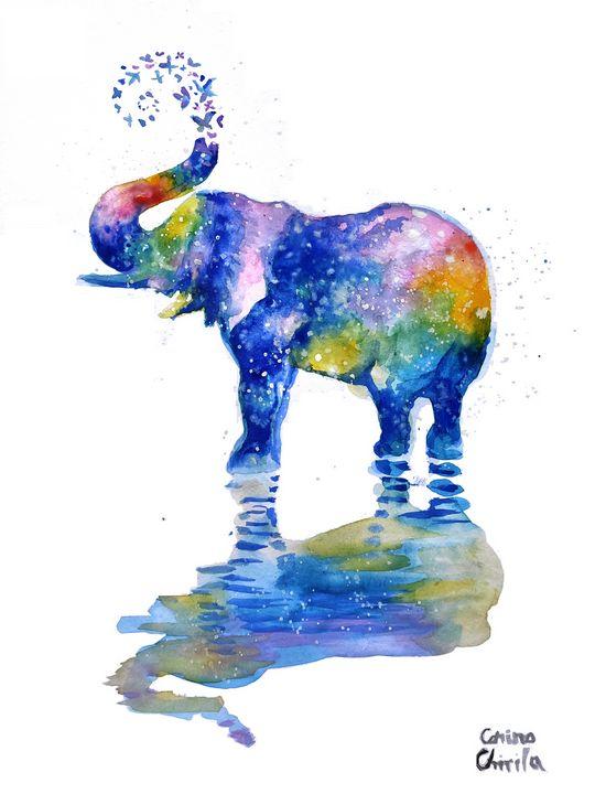 Happy elephant - CORinAZONe
