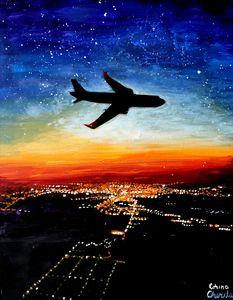 A flight to Timisoara