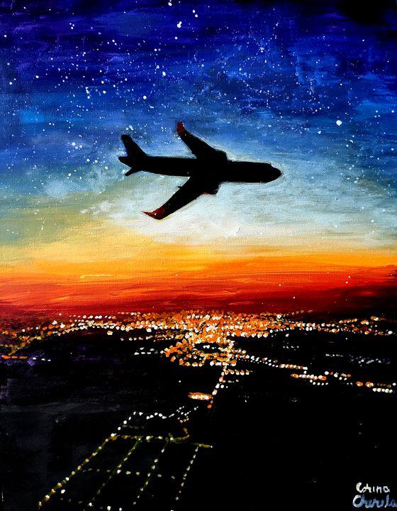 A flight to Timisoara - CORinAZONe