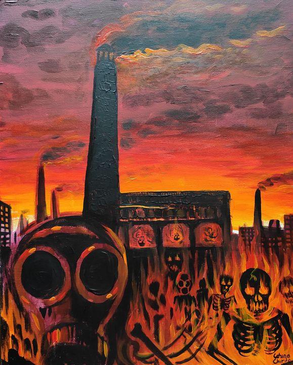 Incinerator - a dark distopic future - CORinAZONe