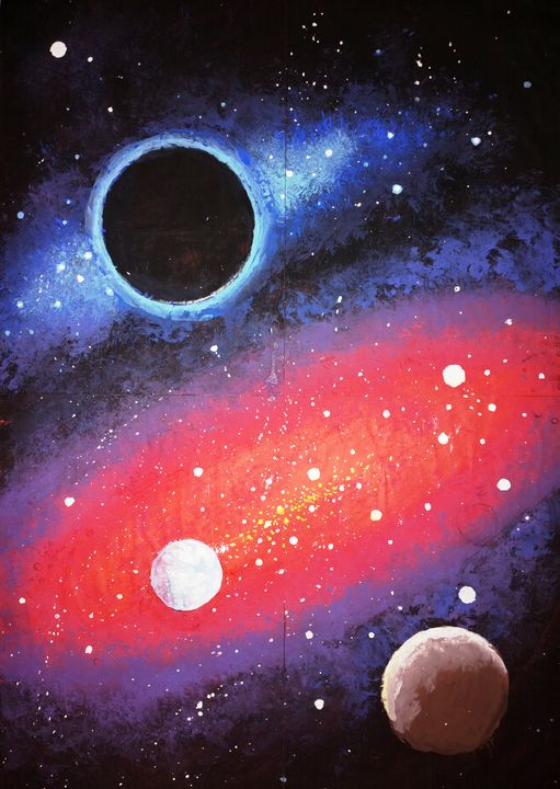 Galaxy and black hole - CORinAZONe
