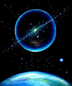 Galactic plasma sphere
