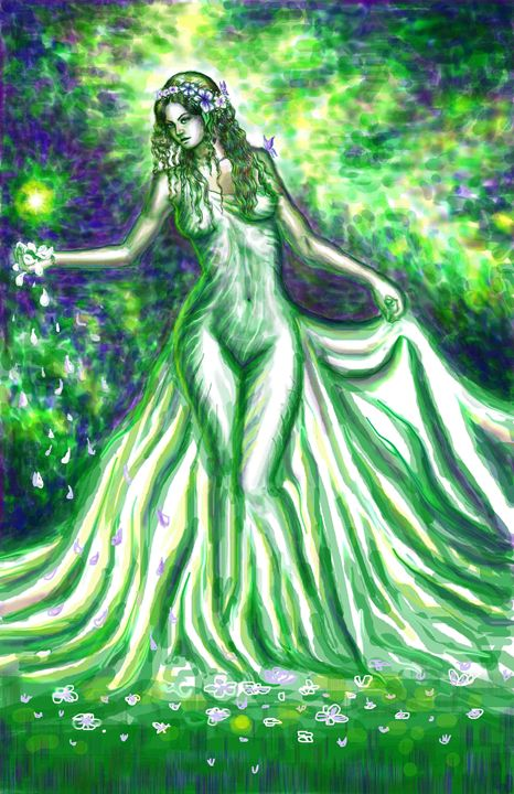 Kore, the goddess of spring - CORinAZONe