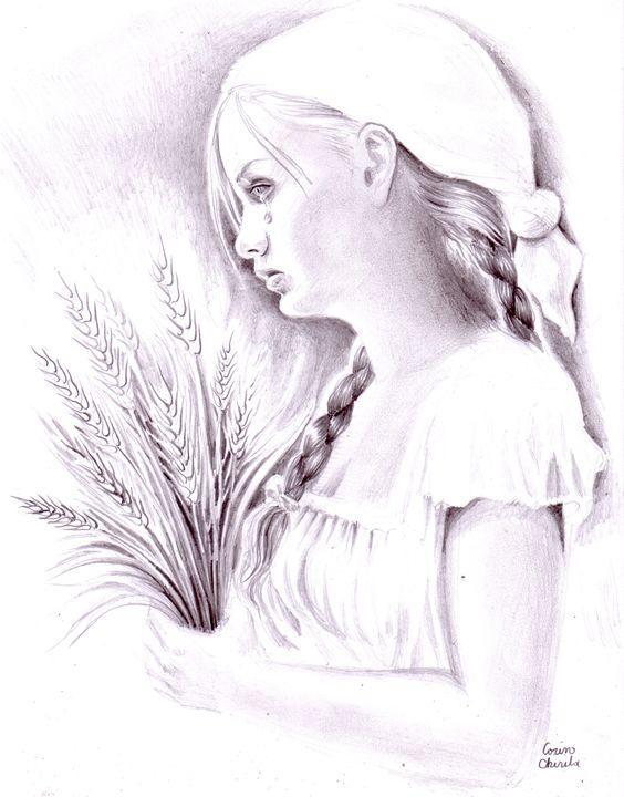 Simina from the novel Padureanca - CORinAZONe