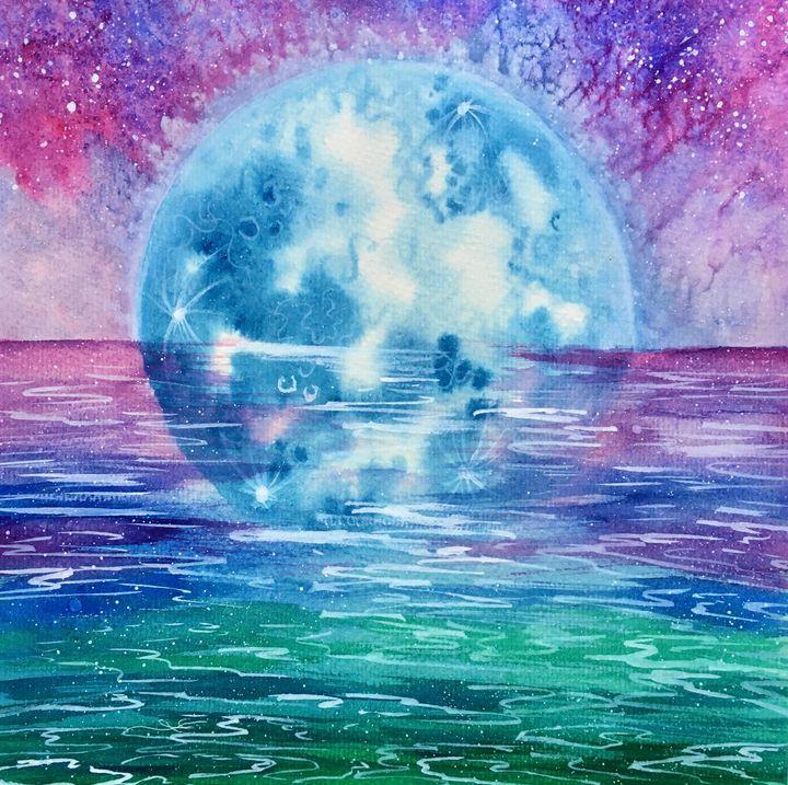 Blue Moon - Lana Kamarić