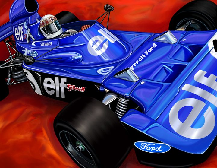 Tyrrell Ford Elf Formula One - David F Kyte