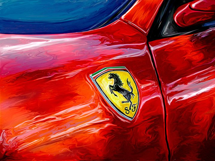 Ferrari Badge - David F Kyte