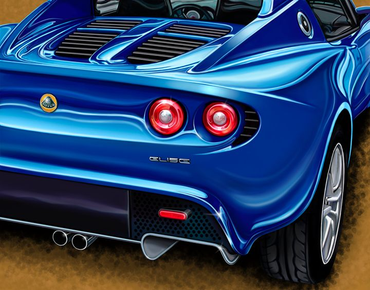 Lotus Elise Rear - David F Kyte