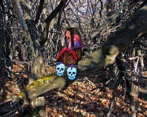 A Cailleachin a thicket