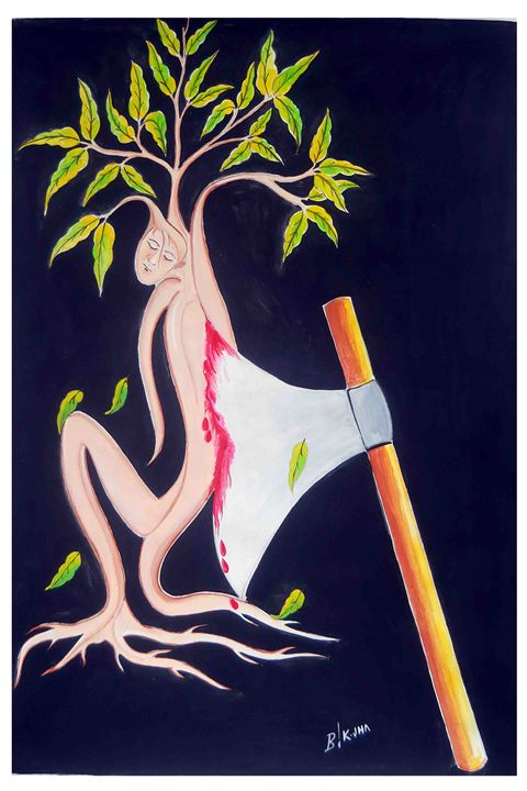 CUT TREES BUT DIED TWO PERSON - BIJAY JHA