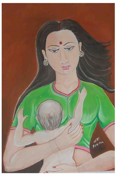 love between mother and chid - BIJAY JHA