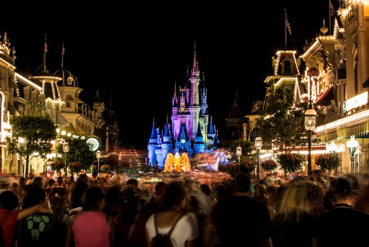 Disney Castle Night - Kcable