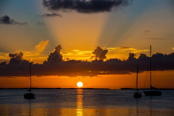Key Largo Sunset - Kcable