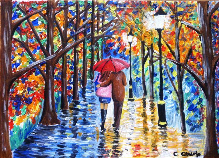 Evening Stroll - Art at Heart