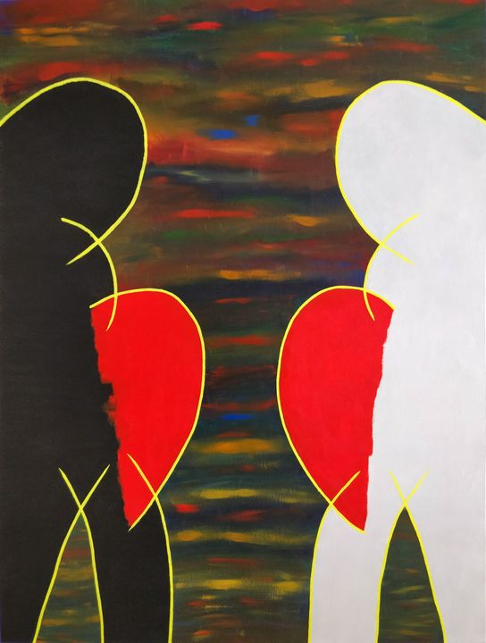 Black Lives Matter - Acrylics Canvas - Pankaj Khokhar
