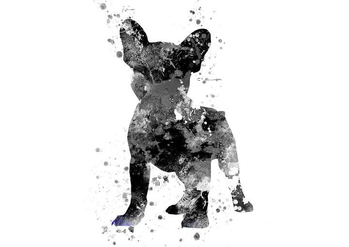 French Bulldog - Rosalia.art