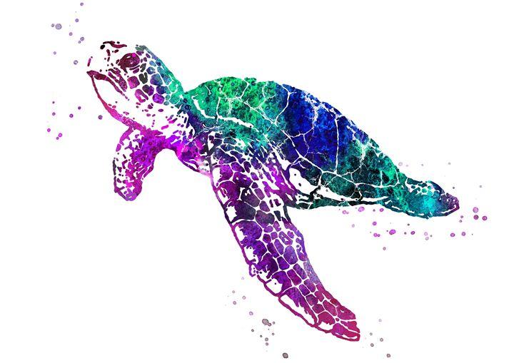 Sea turtle - Rosalia.art