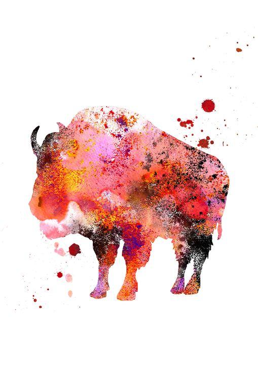Buffalo - Rosalia.art