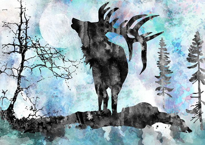 Moose - Rosalia.art