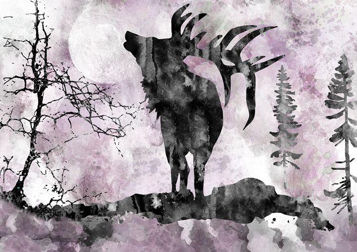Moose - Rosalia.art
