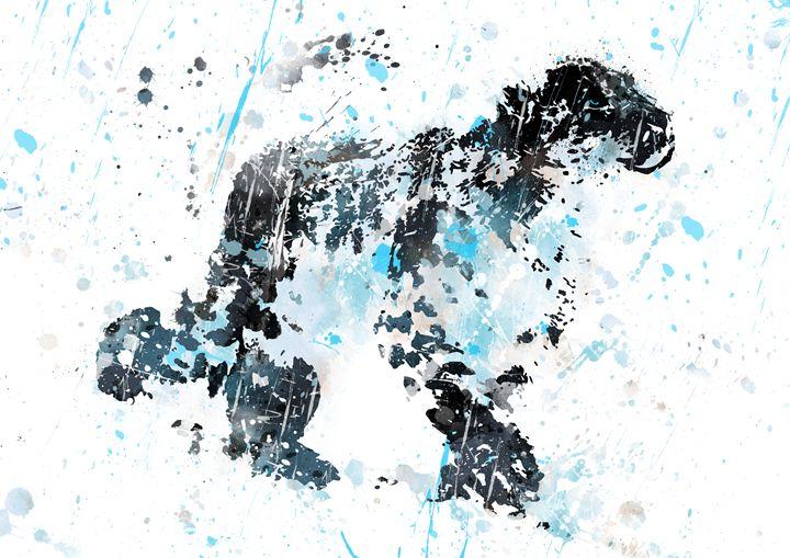 Snow Leopard - Rosalia.art