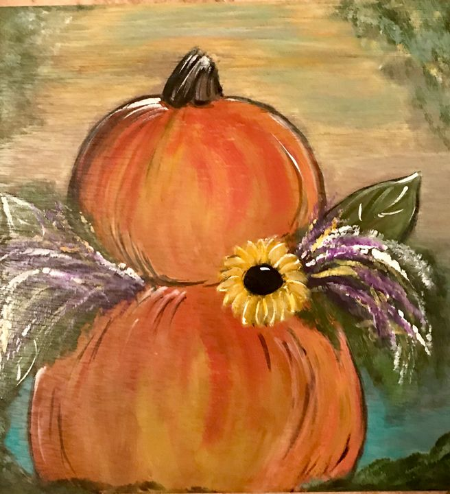 Harvest Time - Blue Oakley Art
