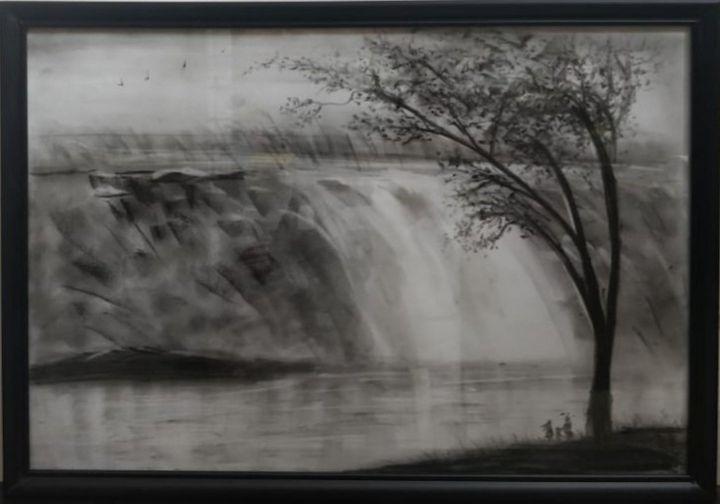 The Waterfall - ColorfulGreys