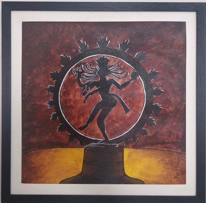 The Dancing Nataraja - ColorfulGreys
