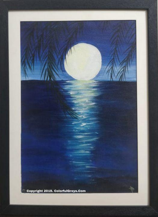 The Moonlit Sea - ColorfulGreys