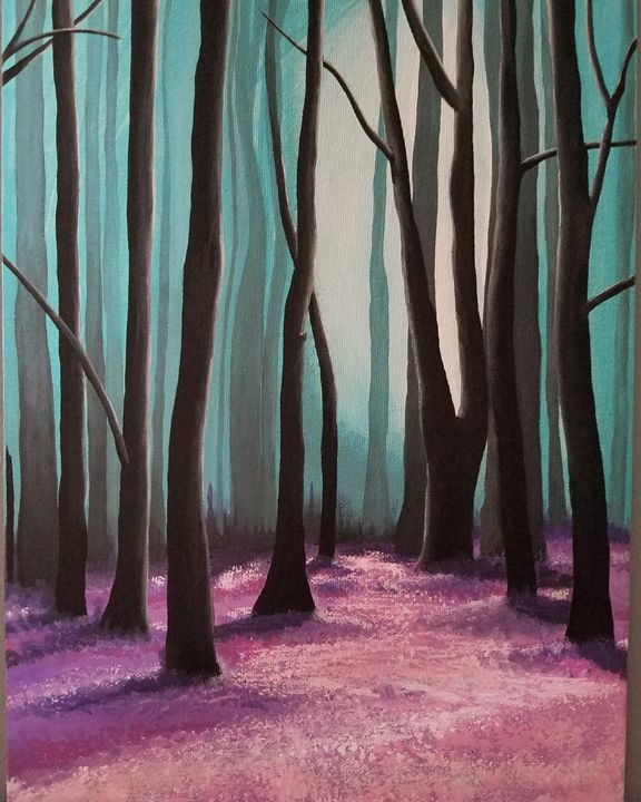 Dark Forrest - Free Spirit Art by B