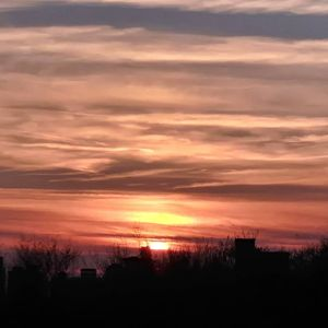 Sunset over Knoxville Tennessee