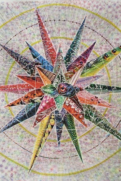 N.n.Dymetaltriptamine - Gaia Art