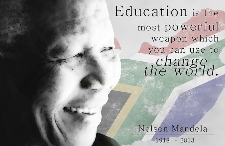 Nelson Mandela - Education - AaronJTurner