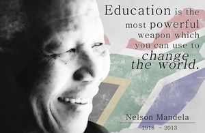 Nelson Mandela - Education