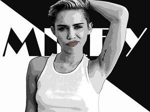 Miley Cyrus - Smirk