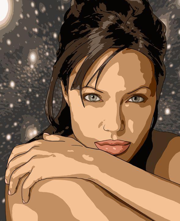 Angelina Jolie - Daydream - AaronJTurner