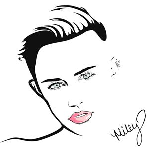 Miley Cyrus - Minimalist