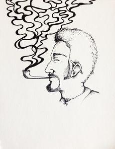 Sad Smoker
