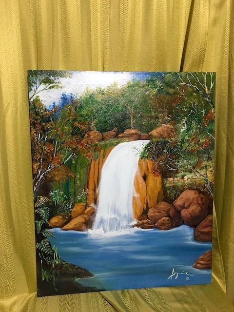 Cascada / Waterfall - Mario Enrique Aguirre