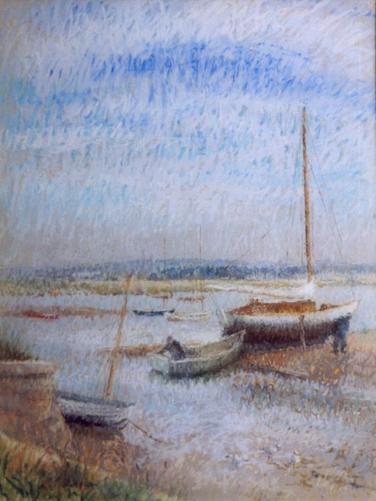 Keyhaven River at Dawn - Sonia Mervyn