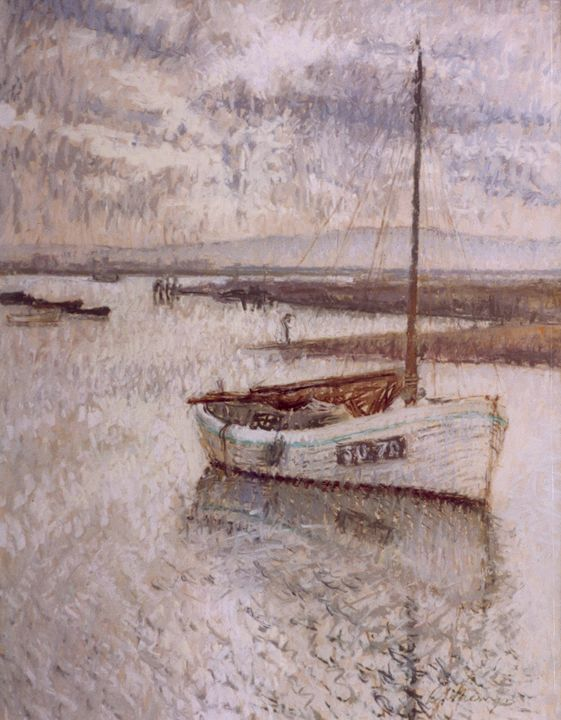 Keyhaven River at Dusk - Sonia Mervyn