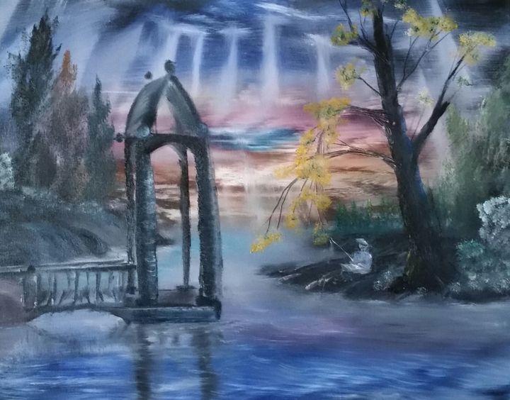 Peaceful Ponder - Ginn Dreams