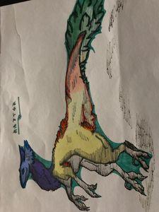 Sketchy Raptor