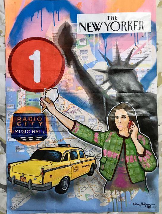 The New Yorker - PANIC Rodriguez