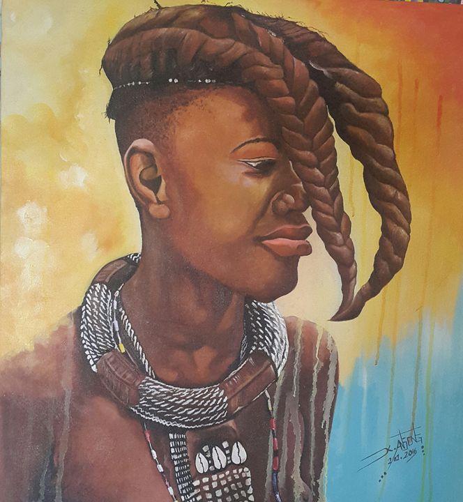 Himba Girl - Gyedine enterprise