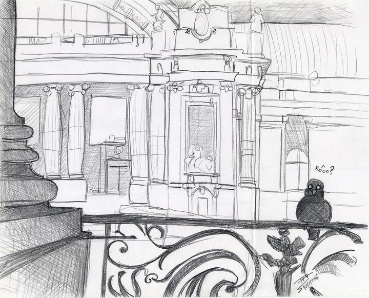 Grand Palais in the Little - dessinateur777