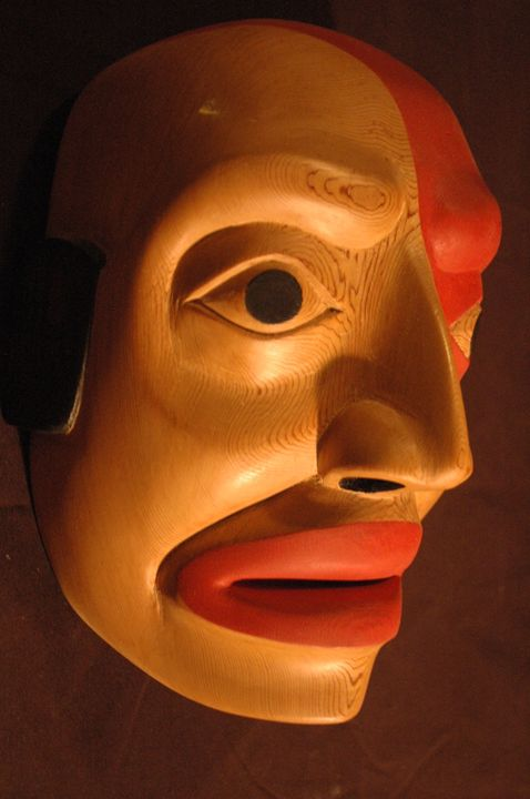 Human West Coast - Lohrenz wood masks