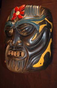 Japanese Coy Mask